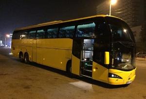Одноэтажный автобус в Болгарию Volvo